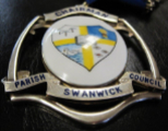 Swanwick  Parish Council Chairmans Badge of Office